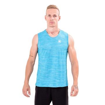 Regata Machão Esporte Legal Velocity Masculina - Azul Claro