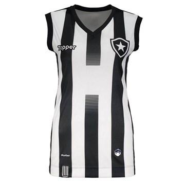 Regata Vôlei Topper Botafogo Oficial I 2017 Feminina