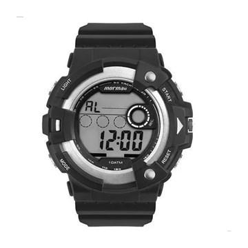 Relógio Mormaii Digital Action MO15100AA/8K Masculino - Preto e Prata