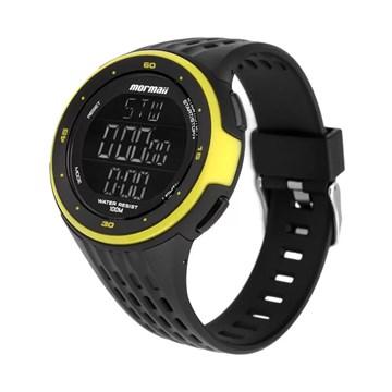 Relógio Mormaii Digital Monitor Cardíaco Preto MO11559AA8V Unissex