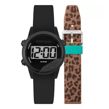 Relógio Mormaii Digital Mude MO4100AF/8T8M Unissex - Preto