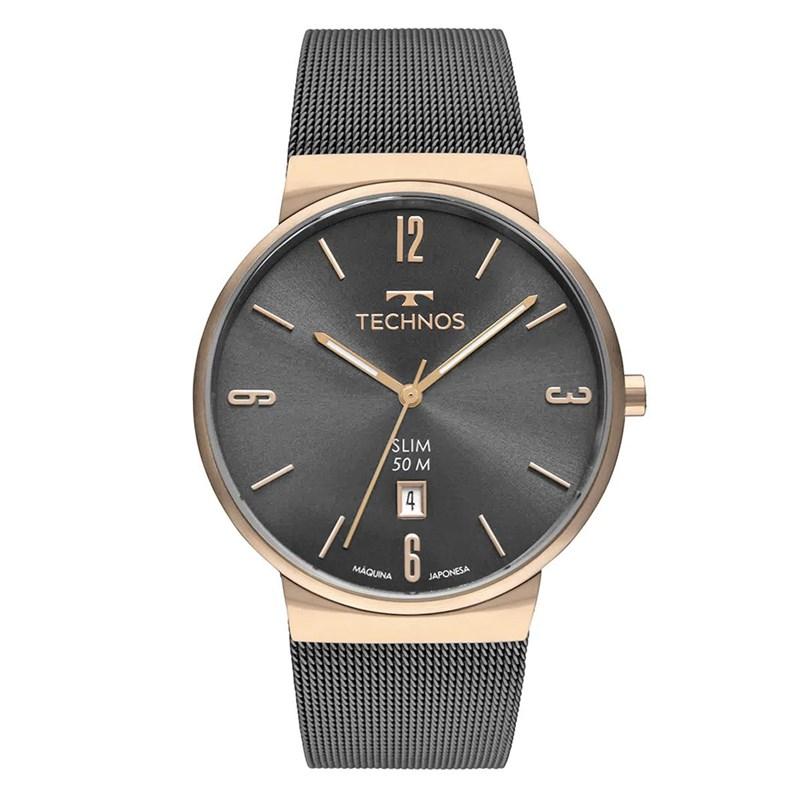 Relógio Technos Slim Masculino