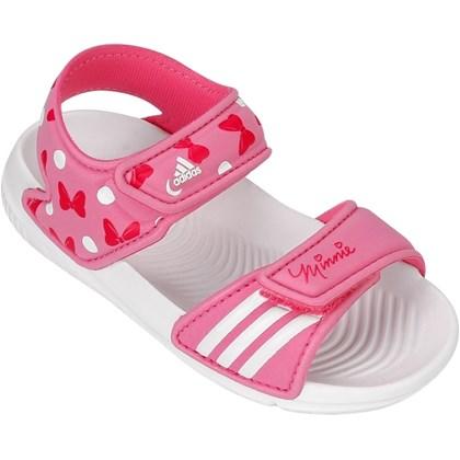 13d817a528a Sandália Disney Minnie Adidas Infantil B40820 - EsporteLegal