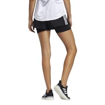 Short Adidas 2 em 1 Pacer 3-Stripes Feminino