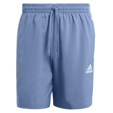 Short Adidas Aeroready Essentials Chelsea 3 Stripes Masculino - Azul