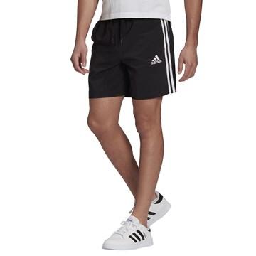 Short Adidas Aeroready Essentials Chelsea 3 Stripes Masculino - Preto