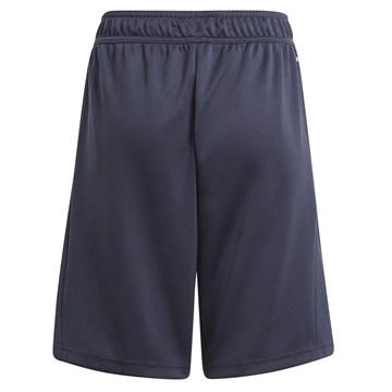 Short Adidas Designed 2 Move Infantil - Marinho e Amarelo