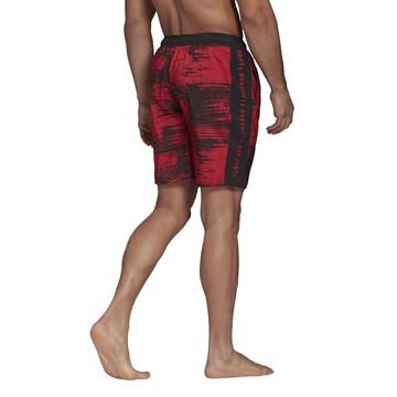 Short Adidas Natação CR Flamengo Masculino - Vermelho e Preto
