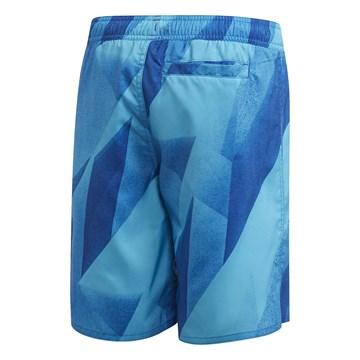 Short Adidas Natação Graphic Infantil - Azul