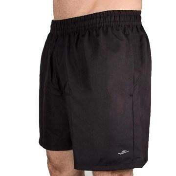 Short Elite 31123 Plus Size Masculino - Preto