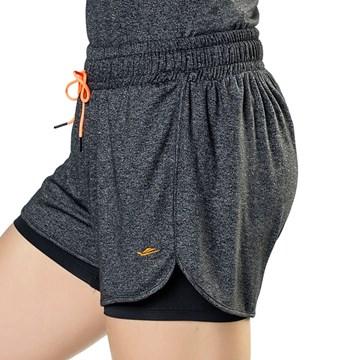 Short Elite Running Arm Curl Feminino - Preto