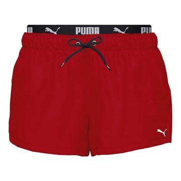 Short Puma Board Feminino - Vermelho