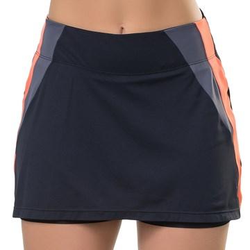 Short Saia Elite Fitness Leg Extension Feminino - Preto