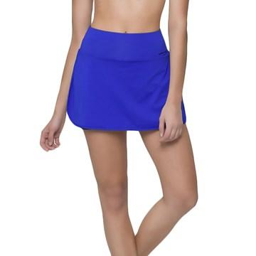 Short Saia Selene Fitness Feminino - Azul