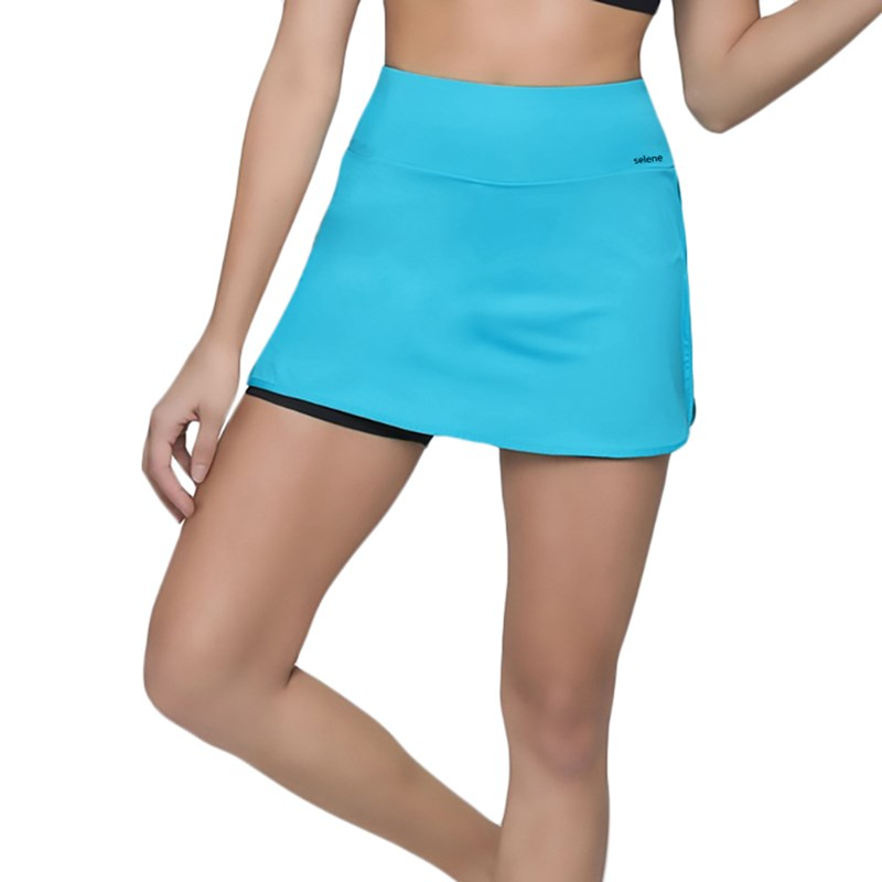 Short Saia Selene Fitness Feminino - Jade