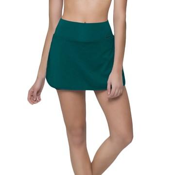 Short Saia Selene Fitness Feminino - Verde