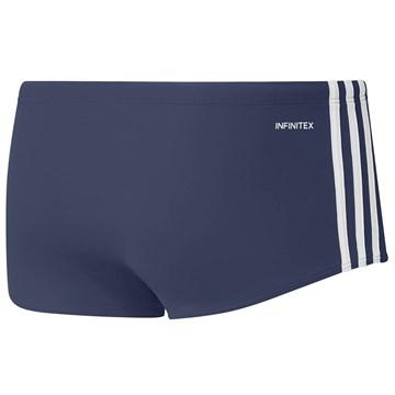 Sunga Adidas 3 Stripes Wide Masculina - Azul