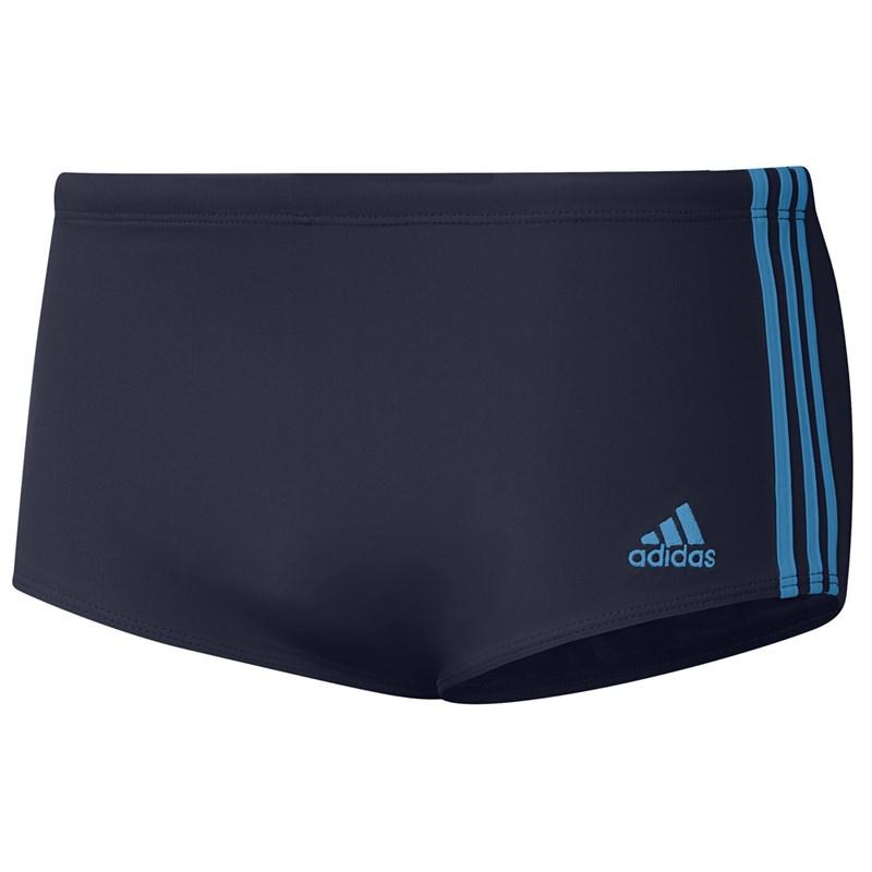 Sunga Adidas 3 Stripes Wide Masculina - Azul Marinho