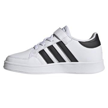 Tênis Adidas Breaknet Infantil - Branco e Preto