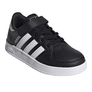 Tênis Adidas Breaknet Infantil - Preto e Branco