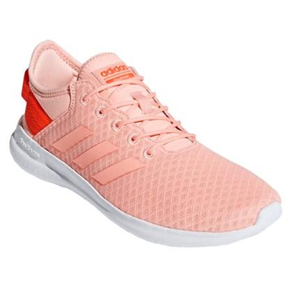 f168308fa84 Tênis Adidas Cloudfoam QT Flex Feminino - Salmão - Esporte Legal