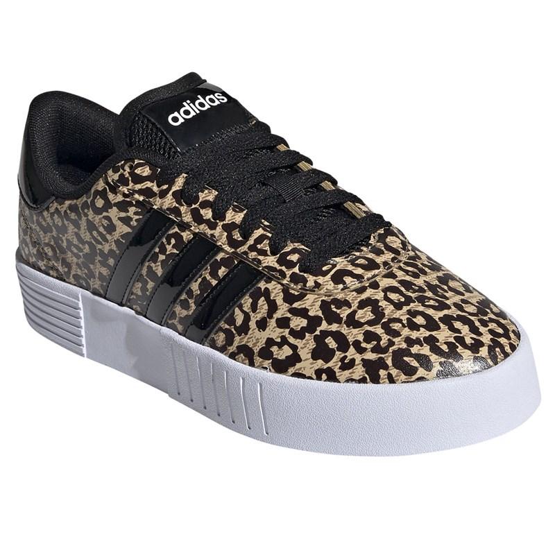 Tênis Adidas Court Bold Feminino - Leopard