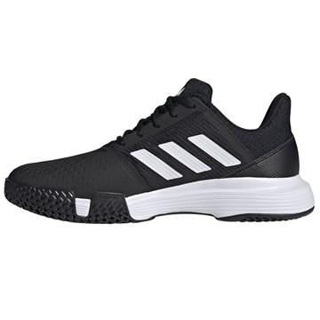 Tênis Adidas Courtjam Bounce Masculino - Preto e Branco