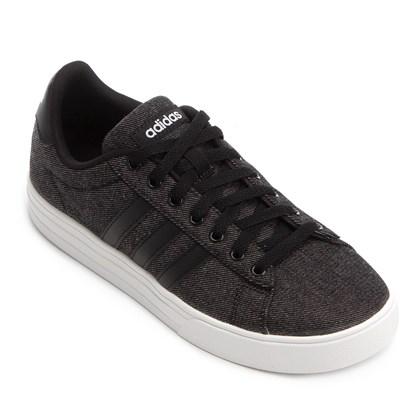 834dc06f199 Tênis Adidas Daily 2 Masculino - Preto e Branco - Esporte Legal