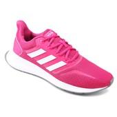 8ad4225241a Tênis Adidas Cloudfoam QT Flex Feminino - Salmão - Esporte Legal