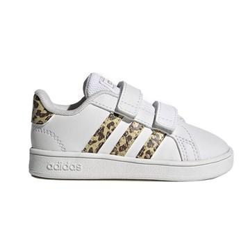 Tênis Adidas Grand Court Infantil - Branco