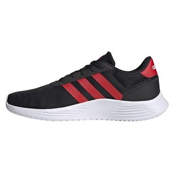 Tênis Adidas Lite Racer 2.0 Masculino - Preto e Vermelho