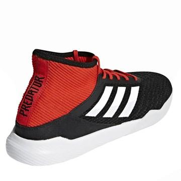 Tênis Adidas Predator Tango 18.3 Masculino - Preto e Vermelho