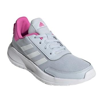 Tênis Adidas Tensaur Juvenil - Cinza e Rosa