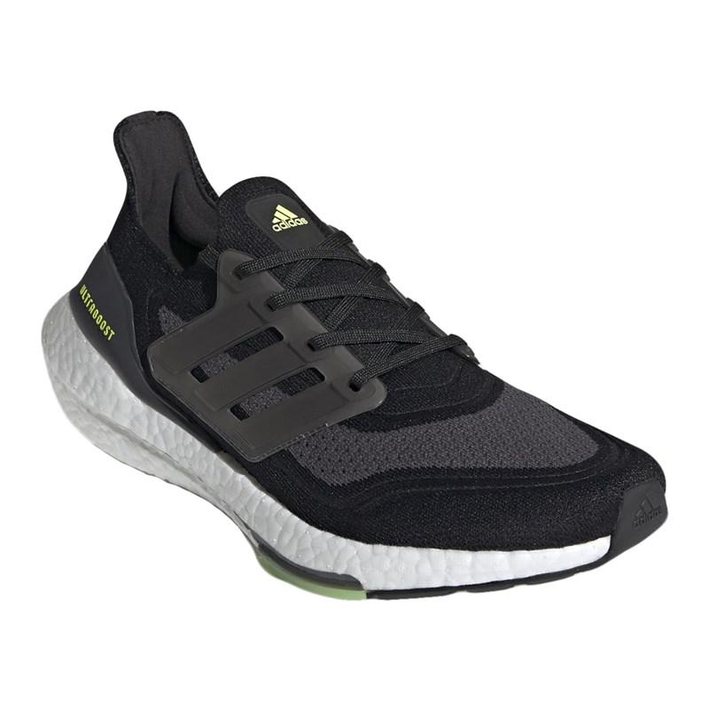 Tênis Adidas Ultraboost 21 Masculino - Preto e Branco