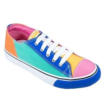 Tênis Capricho Likes Feminino - Multicolor Royal