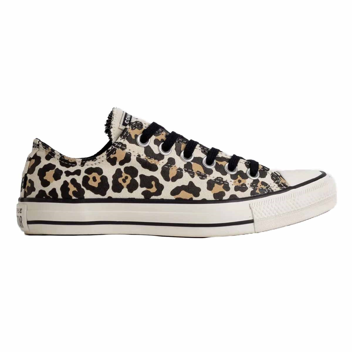 Tênis Converse All Star Chuck Animal Print Ox Bege Amendoa CT13080001