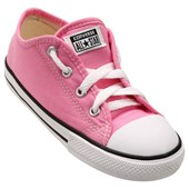 Tênis Converse All Star Chuck Taylor As Border OX Kids Rosa CT05050006