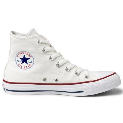 4246f8050c9 Tênis Converse All Star Chuck Taylor As Core HI Branco Marinho CT00040001