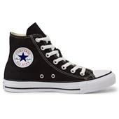 Tênis Converse All Star Chuck Taylor As Core HI Preto Preto CT00040002