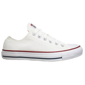 Tênis Converse All Star Chuck Taylor As Core Ox Branco Marinho CT00010001