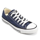 Tênis Converse All Star Chuck Taylor As Core Ox Marinho Preto CT00010003
