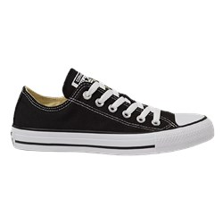 Tênis Converse All Star Chuck Taylor As Core Ox Preto Preto CT00010002