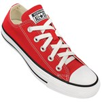 Tênis Converse All Star Chuck Taylor As Core Ox Vermelho Preto CT00010004