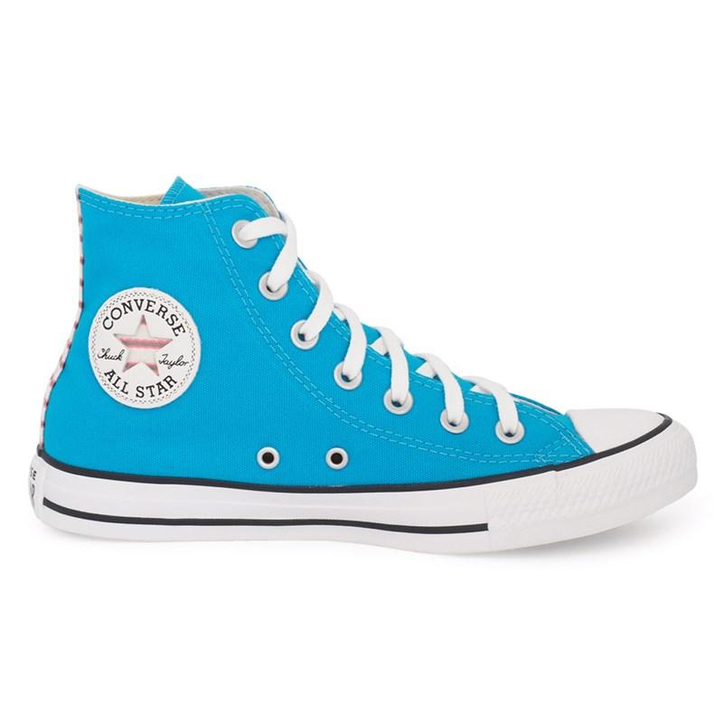 Tênis Converse All Star Chuck Taylor HI Azul Náutico CT14860001