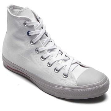 Tênis Converse All Star Chuck Taylor HI Branco Azul CT12270001