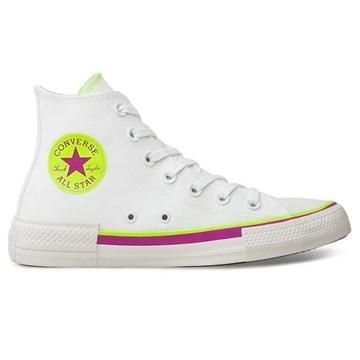 Tênis Converse All Star Chuck Taylor HI Branco CT14700002