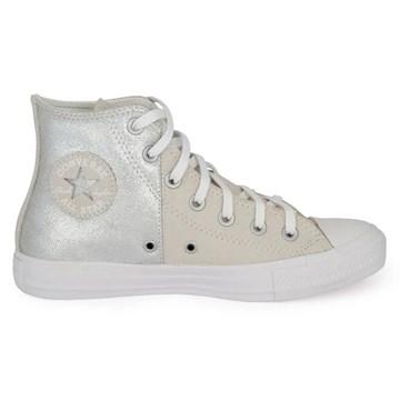 Tênis Converse All Star Chuck Taylor HI Cinza Pálido CT14590001
