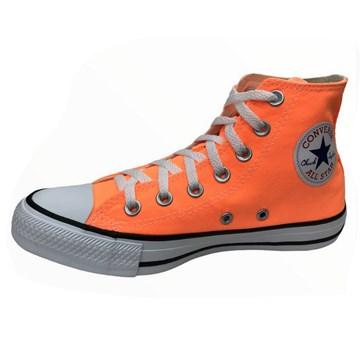 Tênis Converse All Star Chuck Taylor HI Laranja Flúor CT04190041