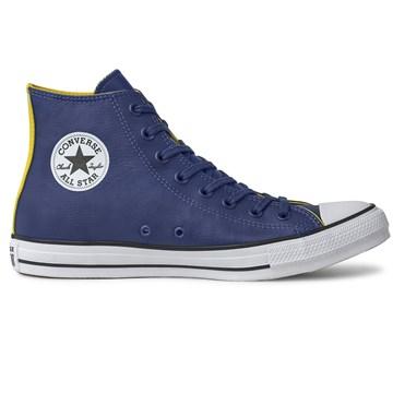 Tênis Converse All Star Chuck Taylor HI Marinho Amarelo CT13440001