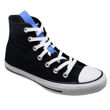Tênis Converse All Star Chuck Taylor HI Preto Azul Digital CT15640001